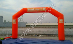 Good finished outdoor event inflatable arch newly design entrance arch for racing