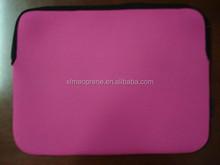 pink hot sell plain neoprene laptop bag/sleeve with zipper