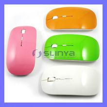 Mini Flat 2.4Ghz Wireless Bluetooth Mouse