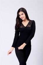 6723-6 OEM manufacturers china 2015 new fashion heated ladies sexy YIWU seamless thermal underwear set