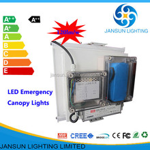 2015 auto dimming retrofit 100w led canopy light for petrol station or gas station