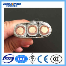 AL/CU CONDUCTOR XLPE/PVC INSULATED ARMOURED POWER CABLE