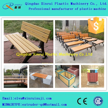 PE wood plastic outdoor wpc production line