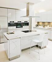 Calacutta Luna 2015 hot sale Quartz white America Style for flooring
