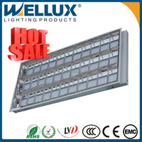 Best Price Grid Light Fitting/Grille Lamp/Fluorescent Light Fixture T8 3x36w