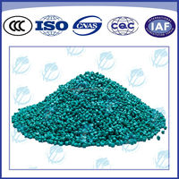 recycled J-90 green cold resistant PVC granules & pvc plastic pellet for power cables