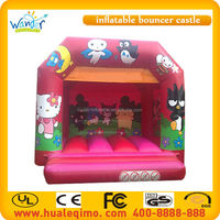 Inflatable PVC used cheap indoor small kids bouncer