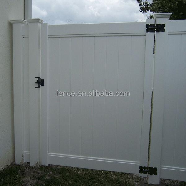 Modelos de gates e cerca PVC plástico barato