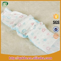 popular urtra soft super dry leg cuffs magic tape Disposable Baby Diaper in quanzhou