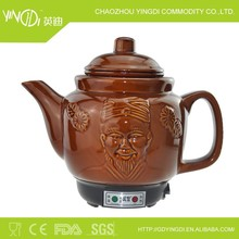 3L Self-control Traditional Chinese Medicine pot&201 stainless steel inner , ceramic outer