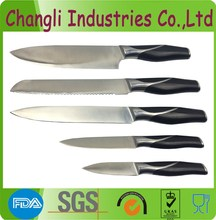 5pcs high quality stainless steel kitchen knife