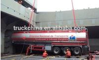 water tank semi trailer made in China milk tank trailer