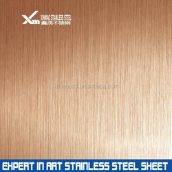 304 rose gold stainless steel decorative plate