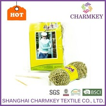 High quality super bulky acrylic polyester blend fancy hand knitting yarn