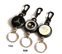 Novelty Metal Wire Spinning Badge Reel