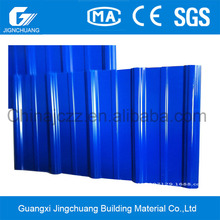 15 Years Warranty Anti Corrosion Roofs Plastic Zinc Corrugated Roofing Sheets