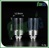 walgreens custom vaporizer pen v pipe short style wide bore Glass drip tip 510