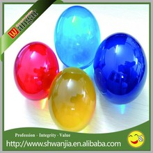 Acrylic solid ball, large clear acrylic dome, colored acrylic balls