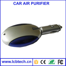Eco-friend air purifier car car air purifier ionizer air purifier for car LC01 with adjust negative ion and ozone concentration