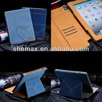 Jeans Pocket Denim Cloth Smart Case For iPad mini 2
