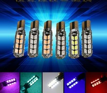 New Design Car T10 W5W LED Light Automobile T10 LED Lamp 12V 33 SMD 3528/2835 Bulb