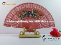 2012 new Personalized Colored Sandalwood Fan