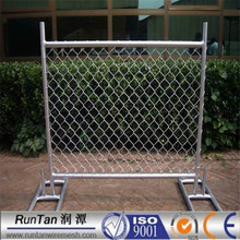 factory Australia standard portable hot dipped galvanized temporary fence
