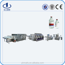 High Quality Automatic glass bottle iv injection manufacturing machine