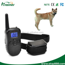 HOT !!! Rechargable LCD Remote Control Dog Training Shock Collar
