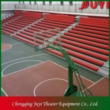 JY-750 China professional retractable bleacher Factory design retractable bleacher