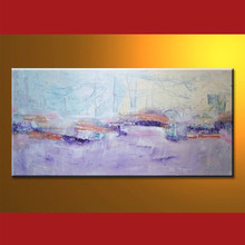 Modern Handmade Abstract Canvas Art Picture Handmade For Home