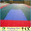 Material 100%PP interlocking basketball flooring/vinyl flooring