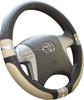 PVC Car Steering Wheel Cover/2015 new hot sell economical universal pu 38cm diameter