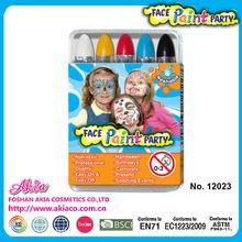de colores de pintura de la cara de juguete cosméticos conjunto para la fiesta