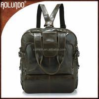 Vintage Girls Leather Backpack Massager