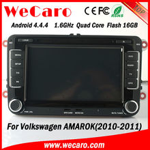 Newest WIFI 3G car gps navigation for volkswagen amarok 2010 2011 Bluetooth DVD Video map google phonebook
