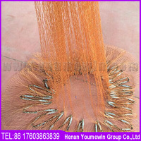 Made in China fishing net used for sale, nylon multifilament fishing net