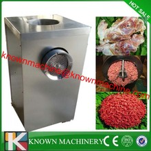 Advanced and safe operation new design big capacity poultry bone grinder,forzen meat crusher