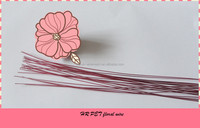 PET colored craft wire with Metal wire 20GA 0.91mm