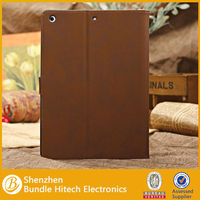 for apple ipad 5/ for ipad air PU leather case. for apple ipad accessories