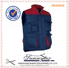 SUNNYTEX Cheap Wholesale Multi Pockets Working Vest