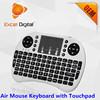 2.4Ghz Mini Wireless Keyboard with Touchpad, i8 Wireless Keyboard, Air Mouse Keyboard for Smart TV Box