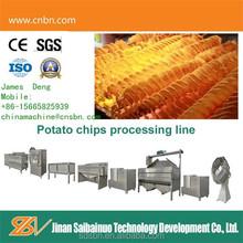 fresh potato chips making machine