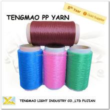 High Tenacity Recycled Intermingle PP Yarn 450D-1200D