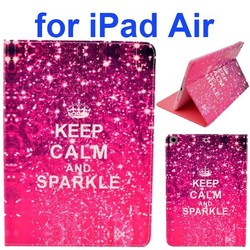 Hot Sale Color Printing Style PU Leather Flip Smart Cover for iPad Air