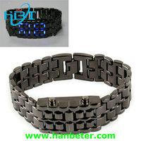 cheap best selling led iron samurai watch