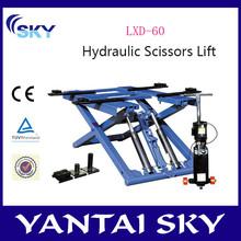 2015 brand new used hydraulic car lift / car scissor lift