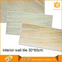Fashion 300x600mm inkjet white embossed ceramic tile exporters of ceramic wall tiles