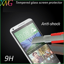 Highly scratch resistant polyurethane tempered glass film for htc desire 816 Table Cover Case Phone All