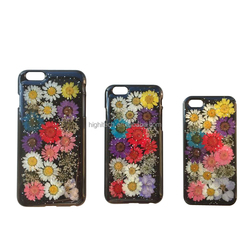 Fashion Brand Flower Floral Hard PC Back Case 3D Shiny Glitter Phone Case Cover For iPhone 5/ 5s/ 6/ 6 plus